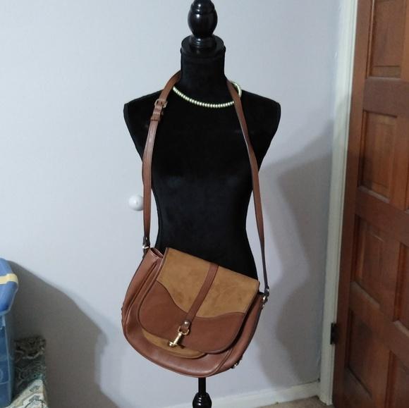 Calvin Klein Handbags - Calvin Klein Leather/Suede messenger bag purse